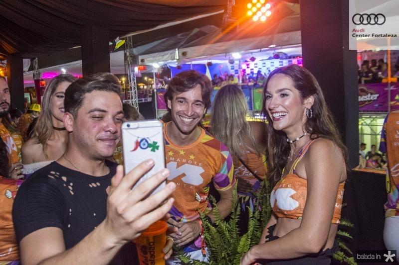 Wesley Safadao, Rodrigo Carvalho e Marcela Carvalho