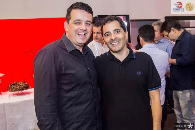 Adriano Pinheiro e Atila Botelho