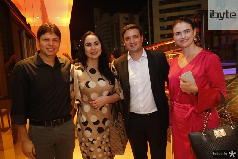 Diogo Silva, Weide Tome, pedro Ribeiro e Paula Barbosa