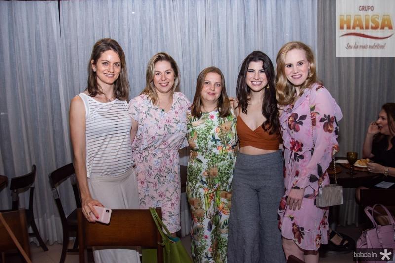 Carol Hater, Nanete Castelo Branco, Renata Paraiba, Themis Briand e Lia Lousada