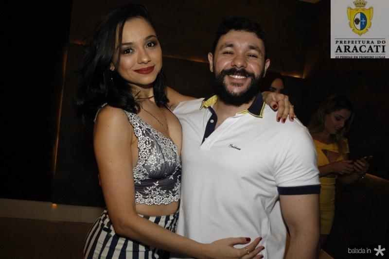 Leiliane Vitoriano e Alexandre Castro