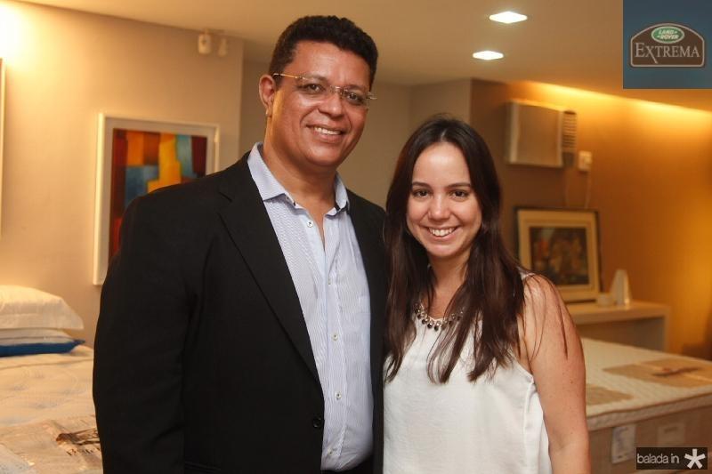 Flávio Liffeman e Emanoela Tomé