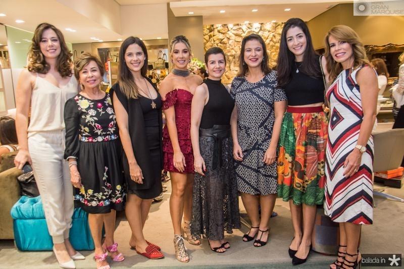 Renata Sleiman, Tane Albuquerque, Joana Ramalho, Priscilla Silva, Renata Bastos, Juliana Freitas, Mila Ary e Tane Albuquerque
