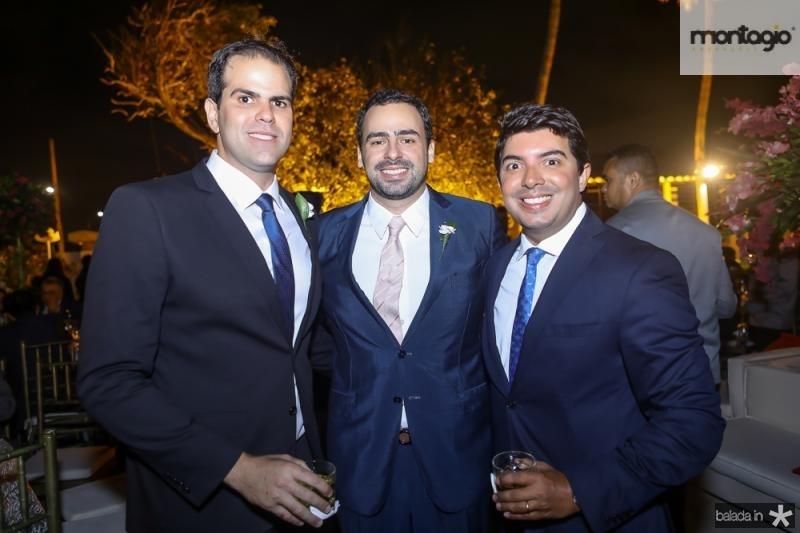 Adriano Viana, Rodrigo Ventura e Geraldo Laprovitera