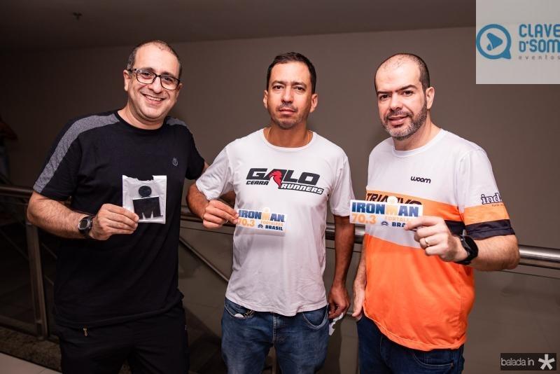 Orlando Fabio, Luiz Galo e Bruno Henrique