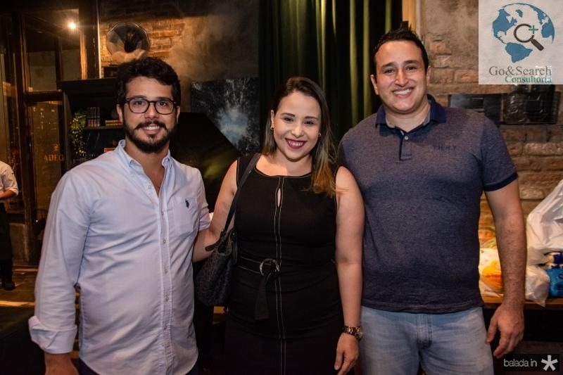 Rafael Fujita, Rafaele Rios e Marcelo Reis