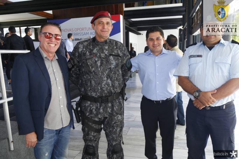 Darlan Leite, Aginaldo Oliveira, Pompeu Vasconcelos e Clairton Abreu