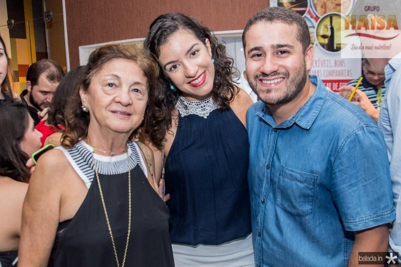 Alcir Poncy, Lia Holanda e Igor Poncy