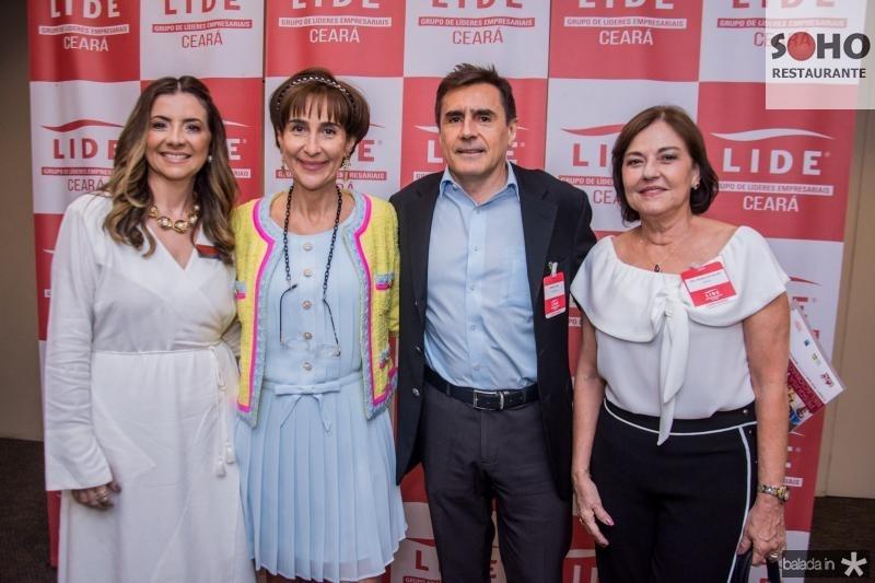 Emilia Buarque, Viviane Senna, Pedro Lima e Ana Studart