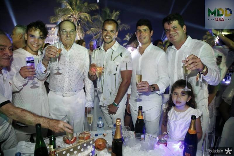 Felipe, Gil, Antonio, Daniel e Beto Gil