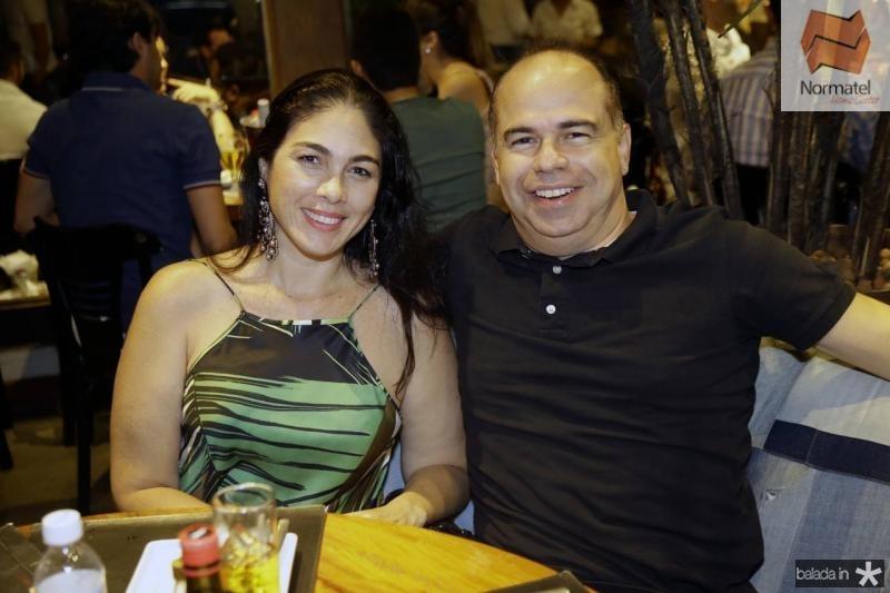 Isabela Fiuza e Marcio Menezes