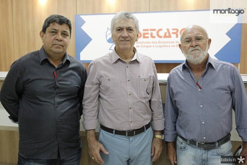Francisco Moraes, Clovis Nogueira e Adolfo Neto