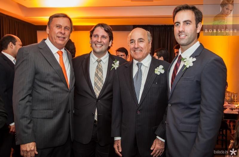 José e Daniel Simões, Silvio e Vitor Frota