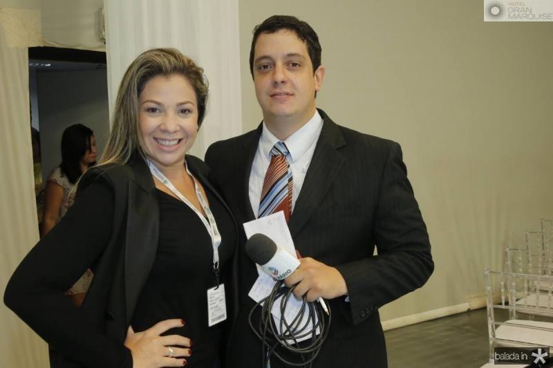 Lygia Martins e Flavio Roveri