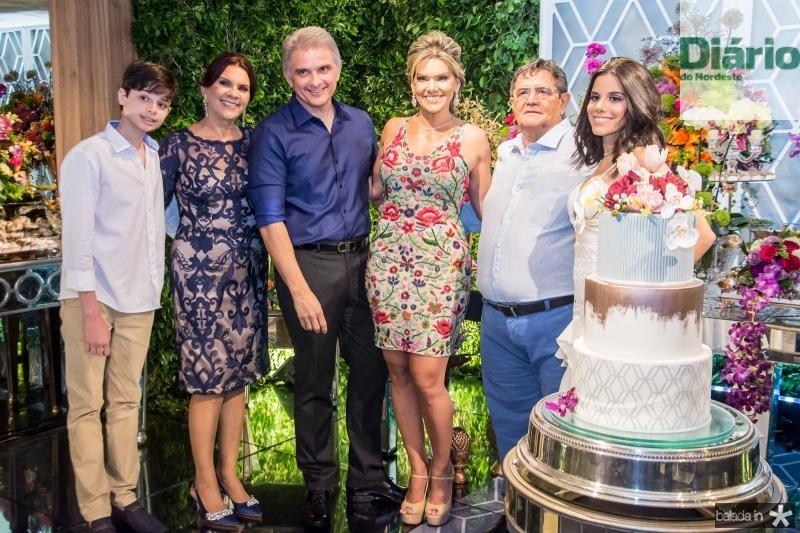 Cristiano Filho, Roseane Campos, Afranio Plutarco, Pauliani Campos, Menezes e Cristiane Cruz