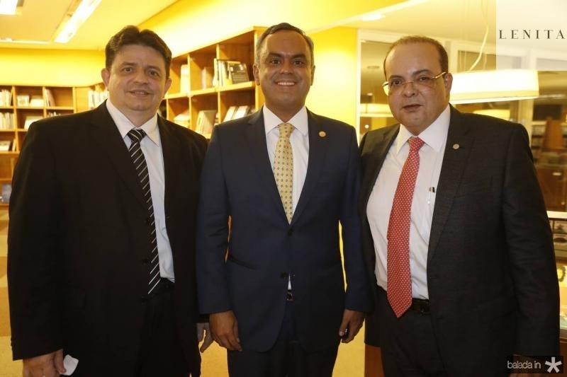 Kennedy Linhares, Marcelo Mota e Ibanes Rocha