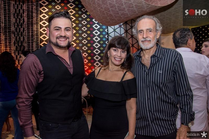 Rodolfo Santiago, Maria Jose Lopes e Ricardo Acioly