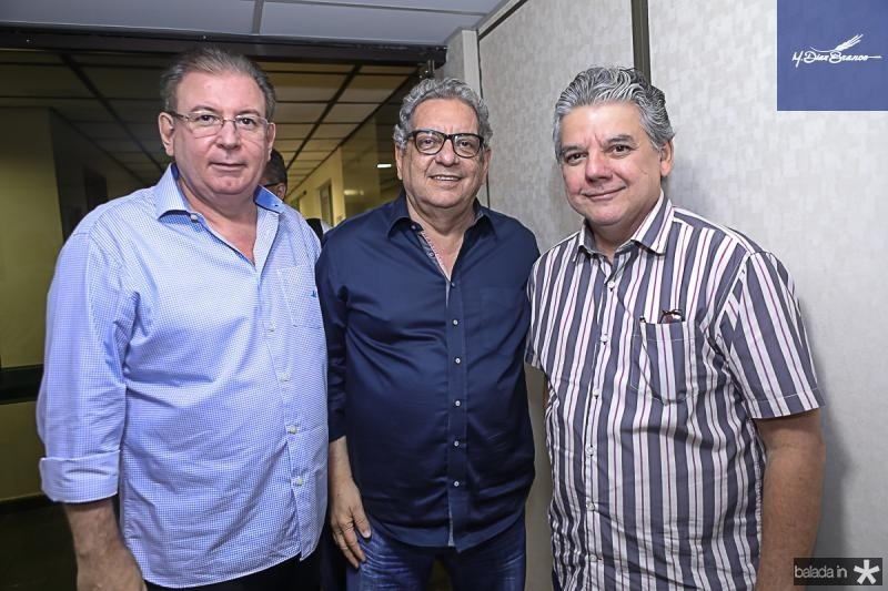 Ricardo Cavalcante, Fred Fernandes e Chico Esteves