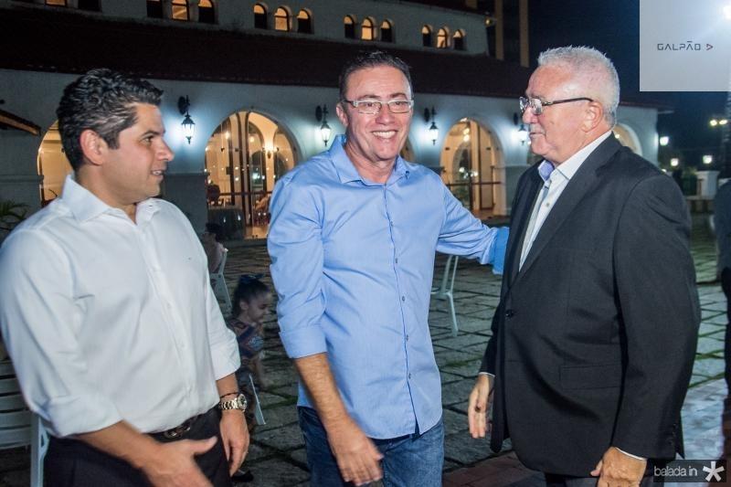 Pompeu Vasconcelos, Darlan Leite e Alcimor Rocha