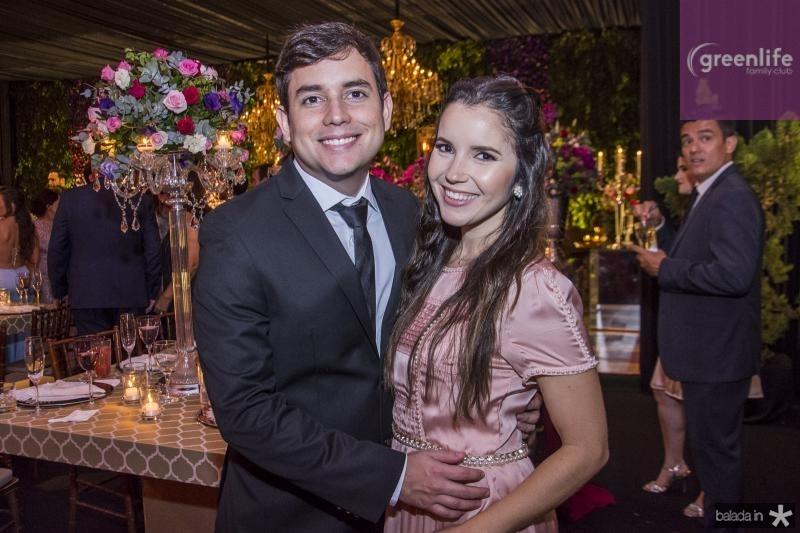Fernando Nepomuceno e Anelise Freire