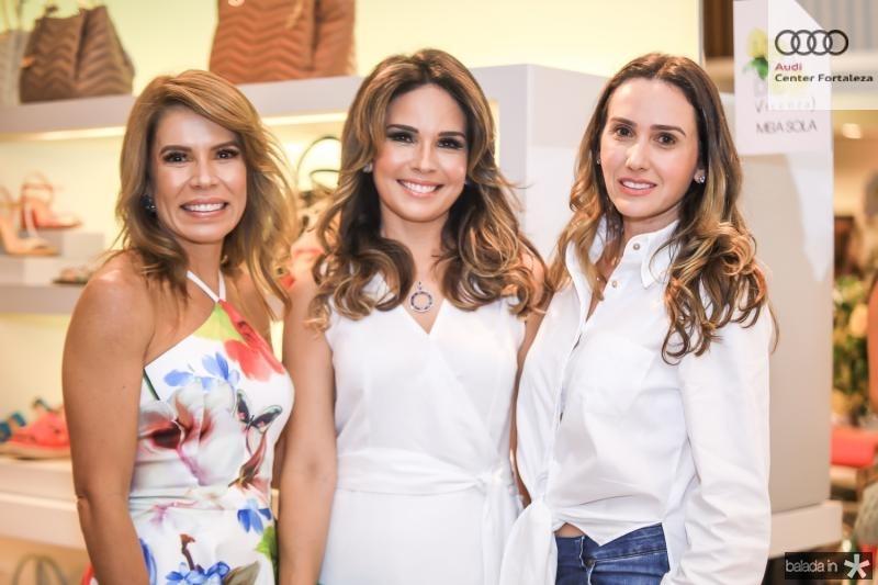 Maira Silva, Eveline Fujita e Roberta Nogueira
