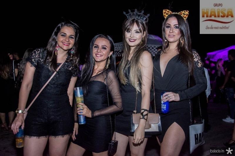 Maria Augusta Sousa, Nivea Rodrigues, Carolina Leyde e Nathalis Duarte