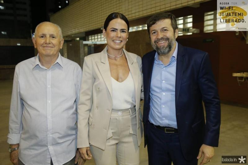 Francisco e Luciana Souza e Elcio Batista