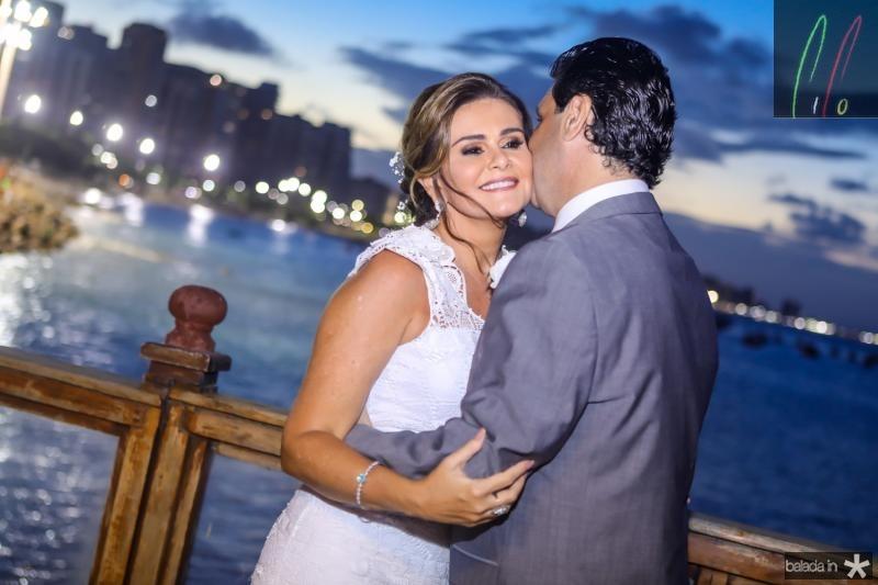 Ivana e Alexandre Rangel