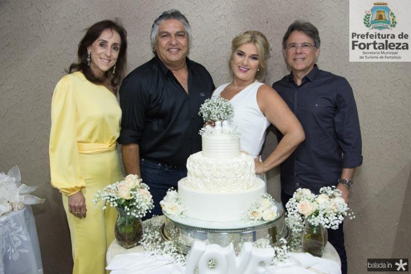 Flavia Castelo, LC e Adriana Moreira e Eduardo Bezerra