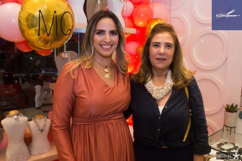 Mariana Queiroz e Joria Araripe