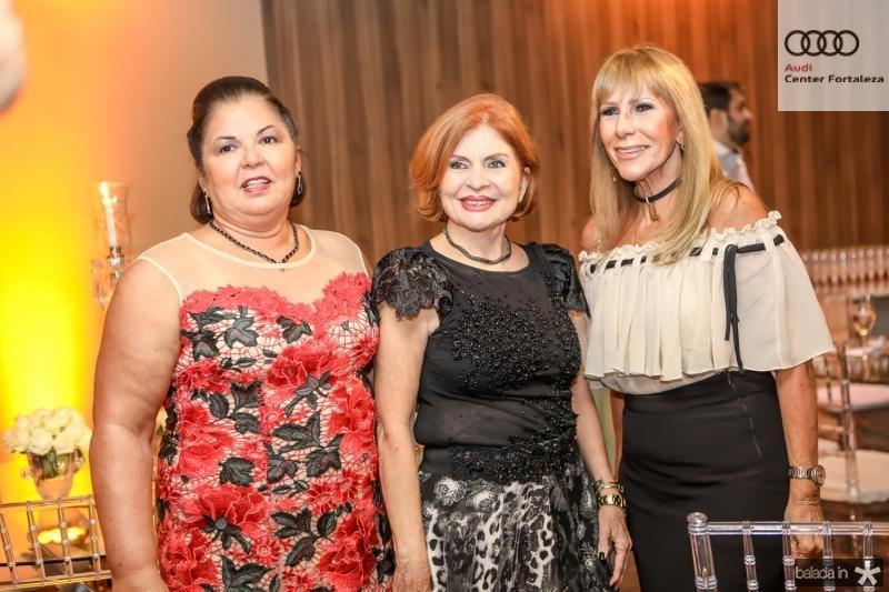Crismene Bessa, Selene Gurgel e Liduina Melo