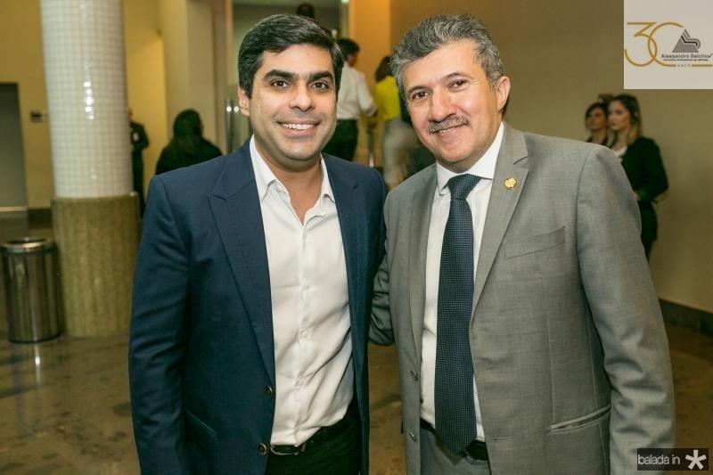 Queiroz Filho e Antonio Henrique