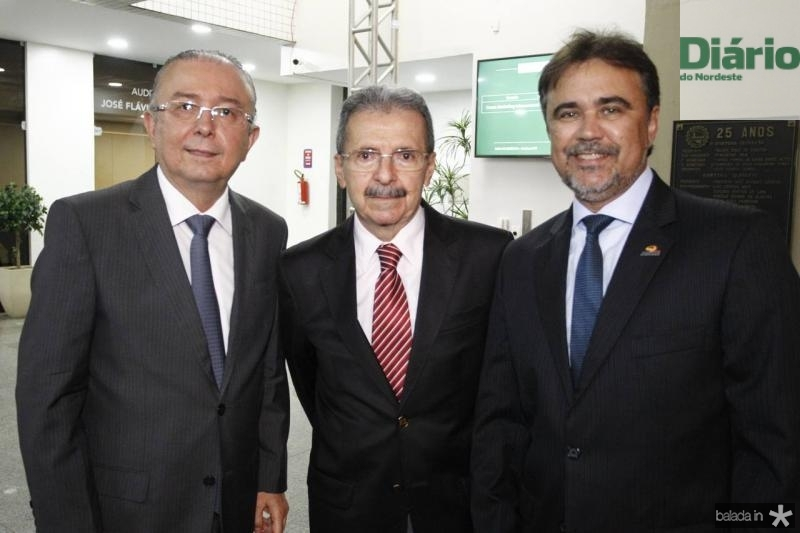 Antonio Jose Mello, Egidio Serpa e Gilberto Costa