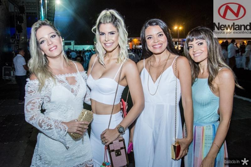 Barbara Colares, Salusa Rossas, Antonia Monteiro e Silvana Monteiro