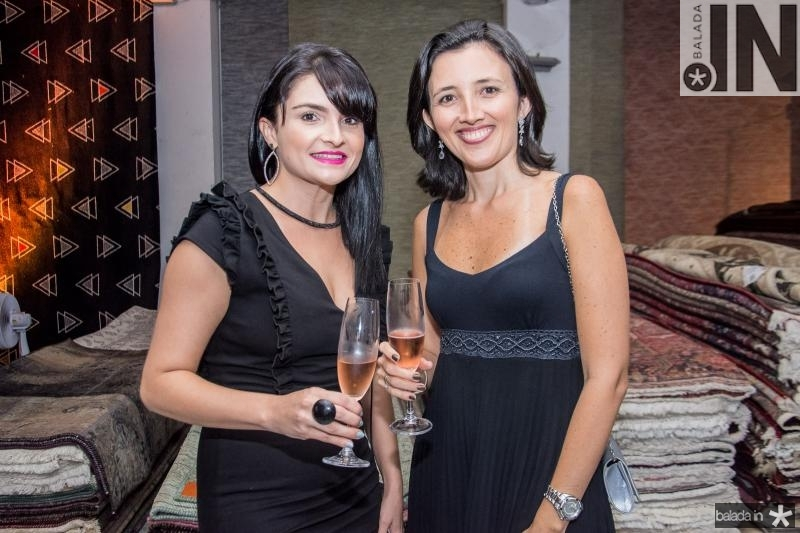 Priscila Albertini e Ana Canafisto