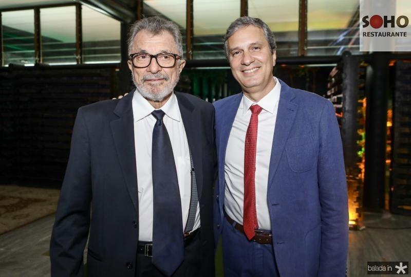 Eudoro e Tiago Santana