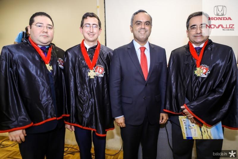Carlos Paz, Roberto Victor Ribeiro, Marcelo Mota e Jardson Cruz