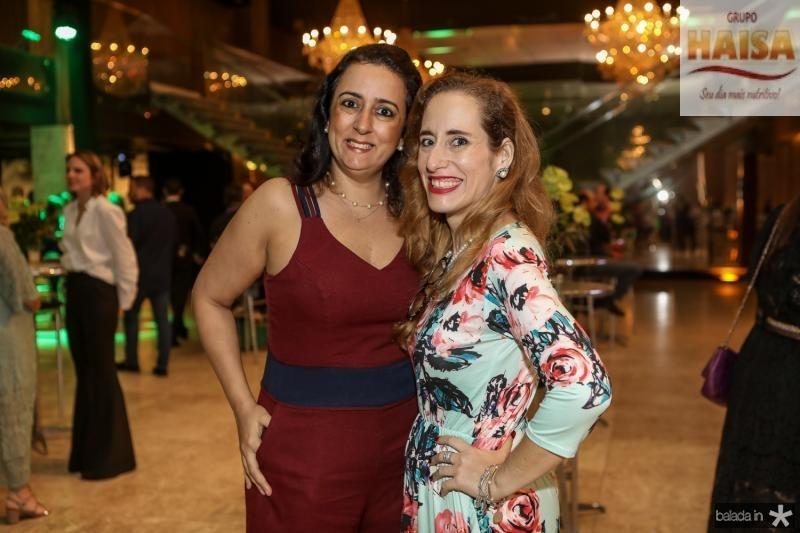 Karine Maia e Joanne Ximenes