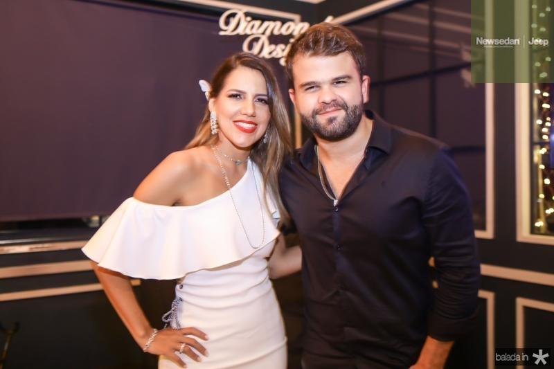 Ana Carolina Fontenele e Andre Guerreiro
