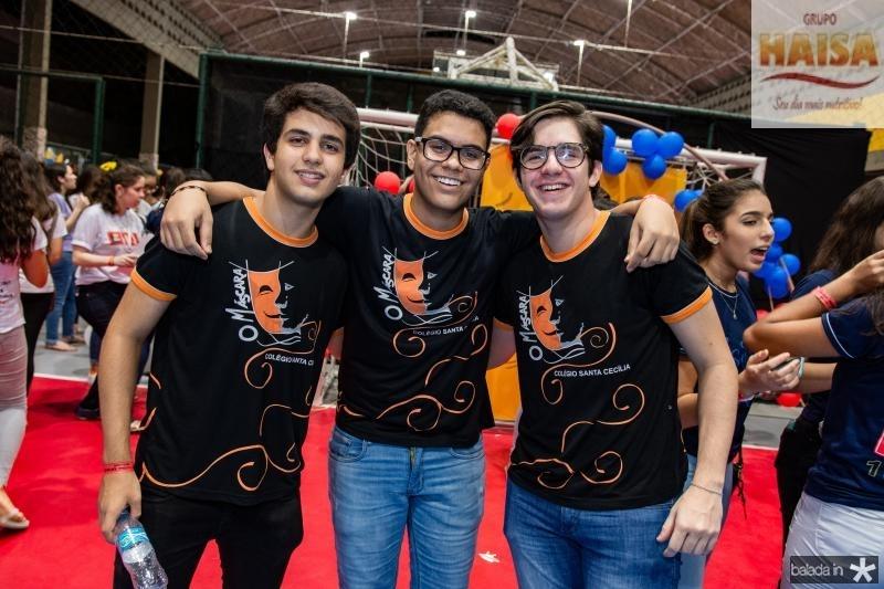 Estenio Neto, Jadson Aguiar e Romeu Lira
