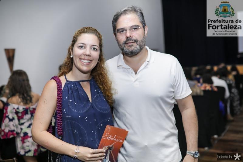Ticiana e Edson Queiroz Neto