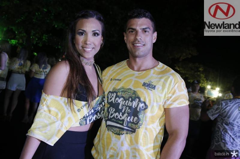 Cris Costa e Edinardo Pinheiro