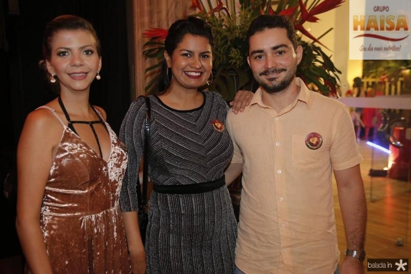 Lady Lima, Tuinah Fontenele e Douglas Uchoa