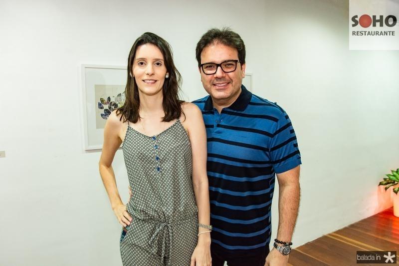 Andrea e Marcelo Feitosa