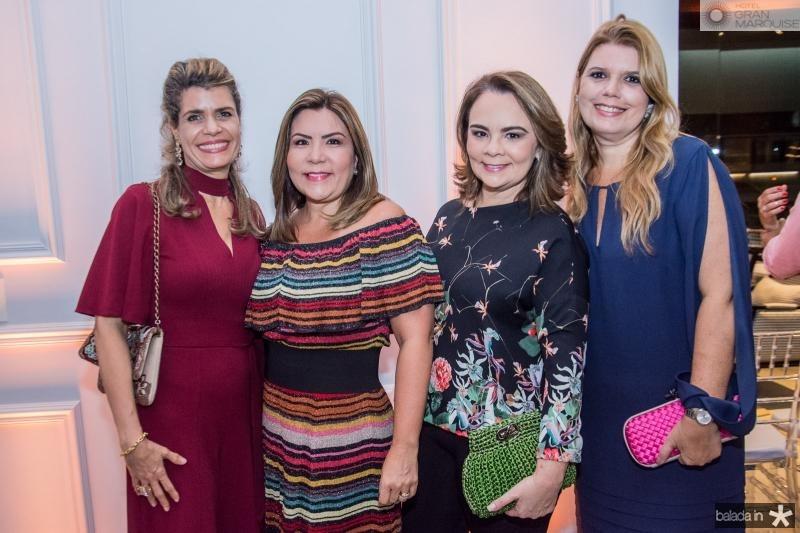 Ellida Escossia, Andrea Bonorandi, Lina Mendonca e Danielle Pinheiro