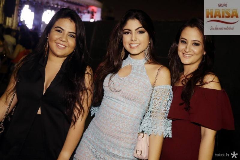 Yasmin Oliveira, Beatriz Magalhaes e Amanda Mesquita