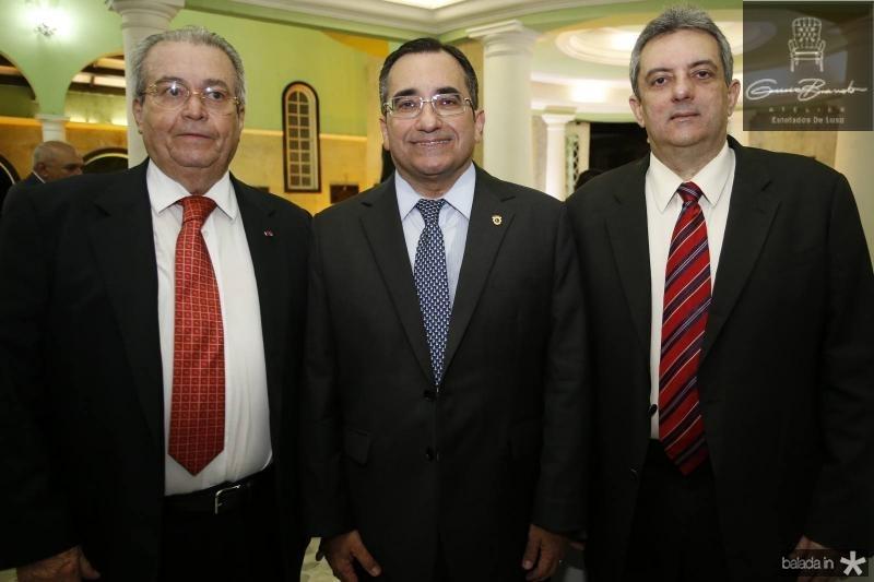 Meton Cesar de Vascocelos, Jardson Cruz e Joaquim Guedes Neto