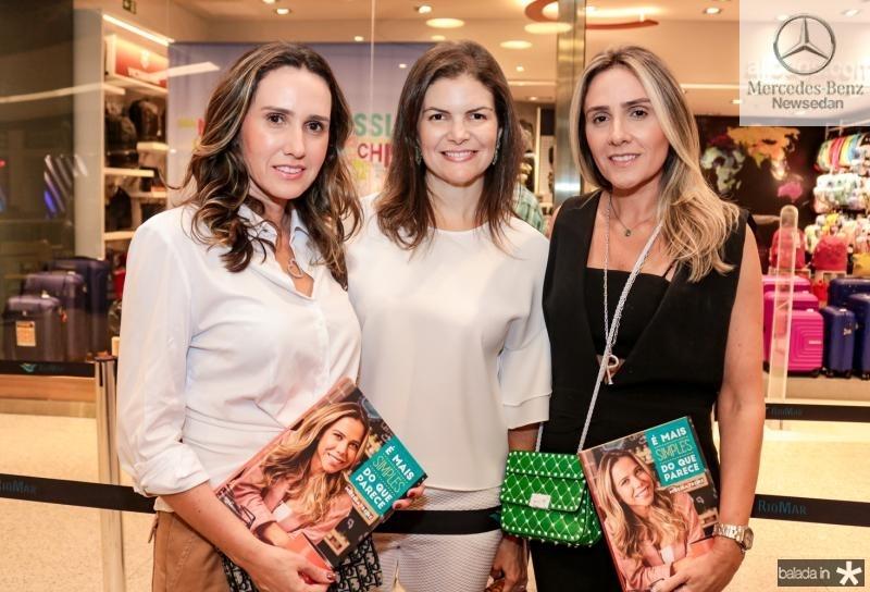 Roberta Nogueira,  Larissa Melo e Renata Siríaco