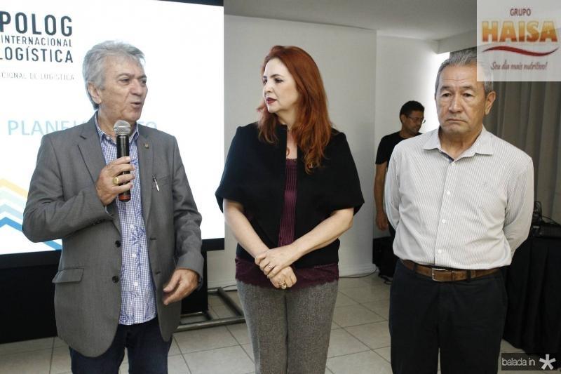Clovis Nogueira, Enid Camara e Wandocyr Romero 1