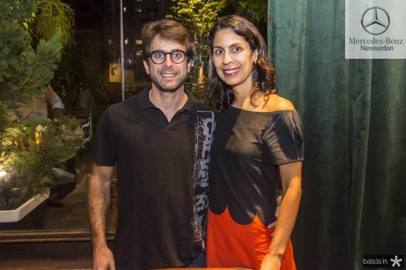 Fabio Tavora e Iusta Caminha